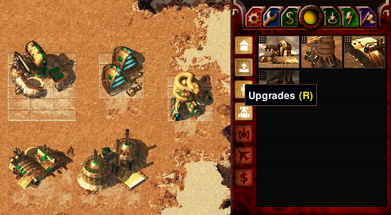 Dune 2000 building upgrades