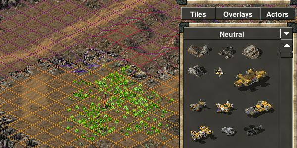 Tiberian Sun in-game map editor
