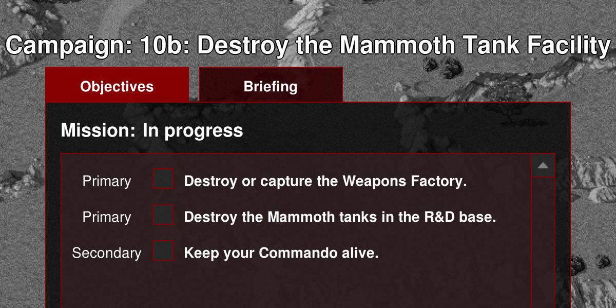 TD Campaign Mission: Nod 10b