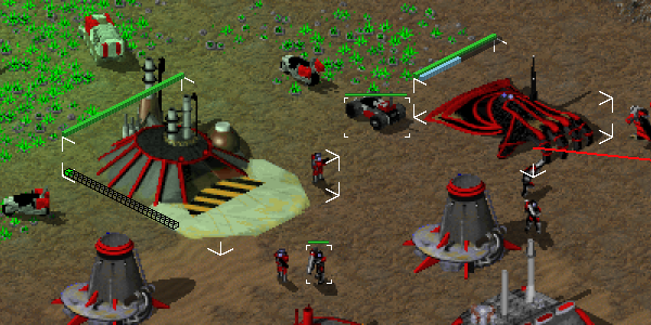 Tiberian Sun selection boxes